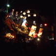 宵ヤマ、三番曳山、亀と浦島太郎